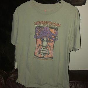 vintage t shirt widespread panic